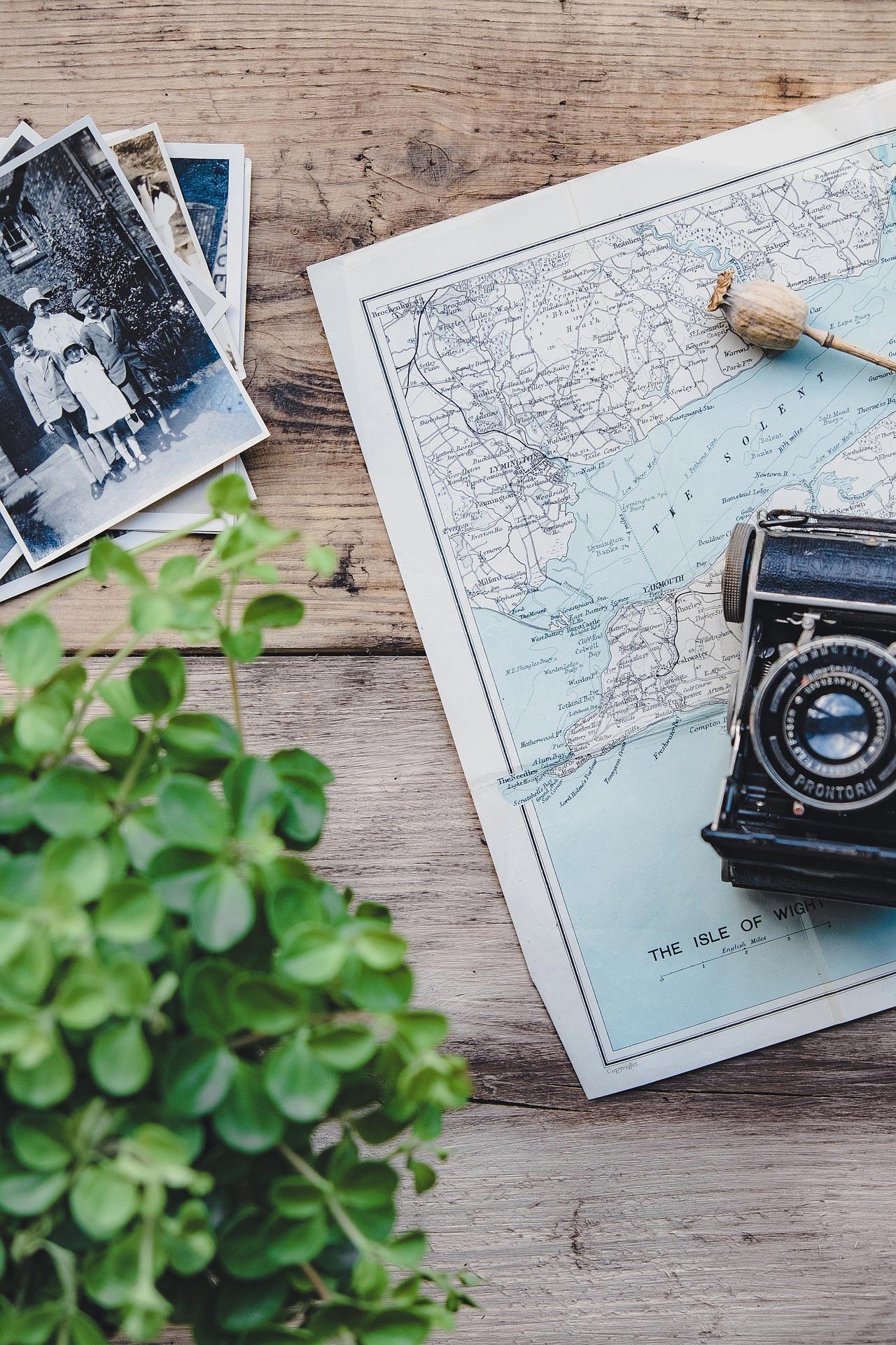Camera, Vintage, Travel